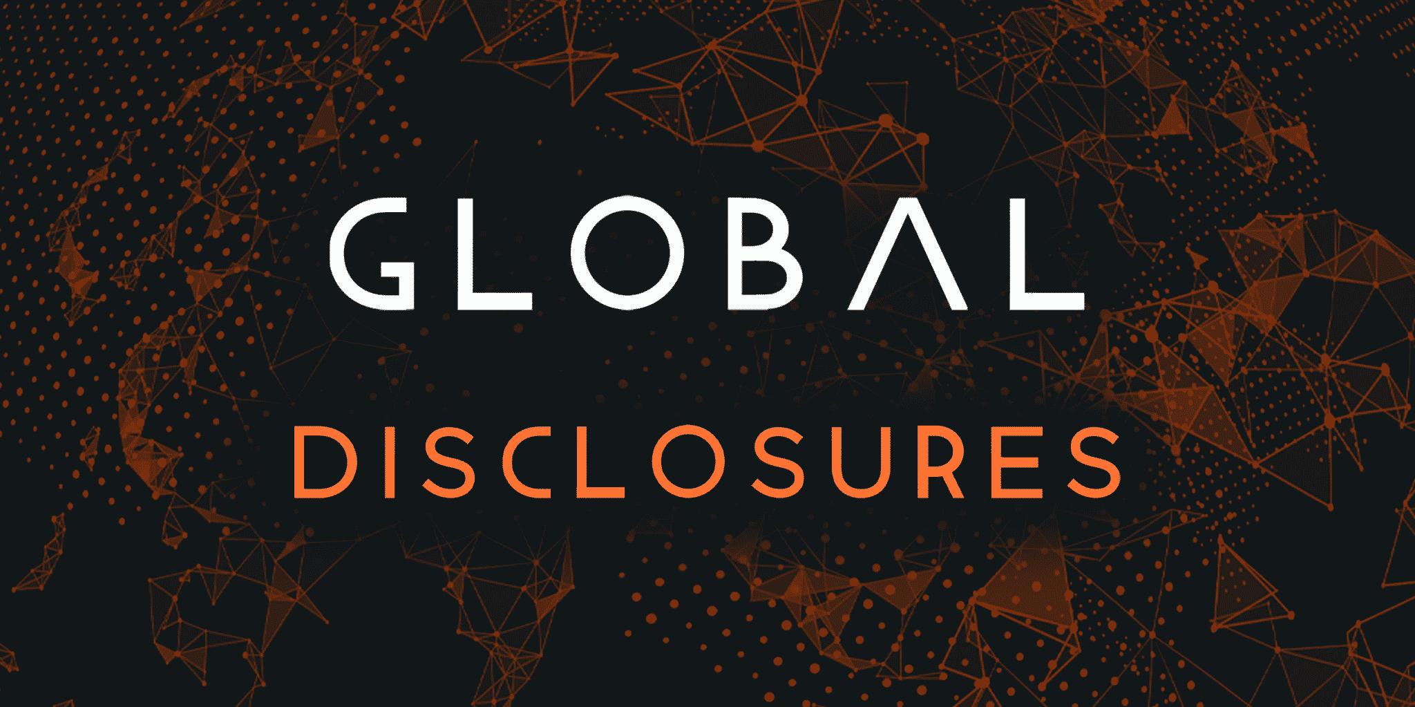 Global Disclosures